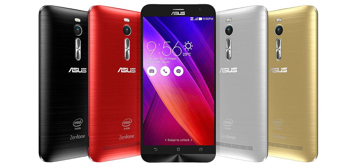 Gama de colores de Asus Zenfone 2