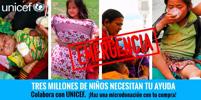 Tres millones de niños necesitan tu ayuda