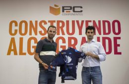 Alejandro Valverde y PcComponentes